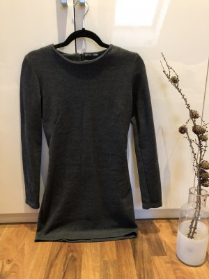 Zara Longsleeve Dress dark grey-grey