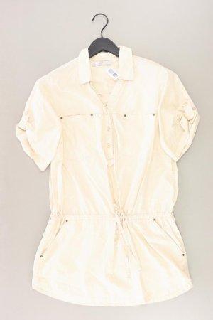 Zara Kleid Größe L creme aus Baumwolle