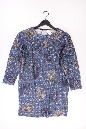 Zara Kleid Größe M blau aus Polyester