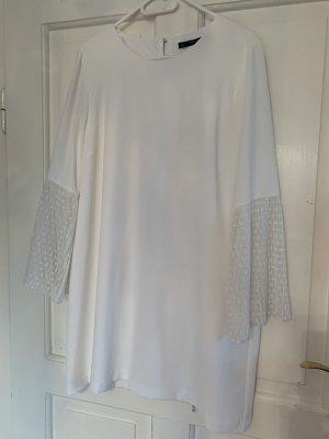 Zara Kleid Größe XL in weiss