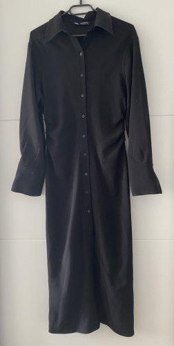 Zara Kleid Hemd schwarz M