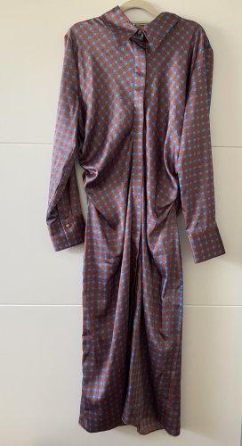 Zara Kleid Hemdblusenkleid mit Print