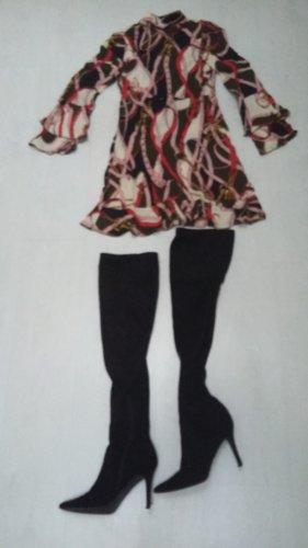 ZARA Kleid im Hermesmuster