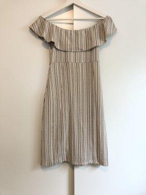 Zara Kleid in braun weiß in S Neu