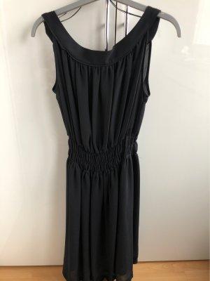 Zara-Kleid in dunkelblau/schwarz