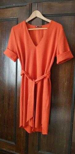 Zara Kleid in Rost - Orange Oversize M-L