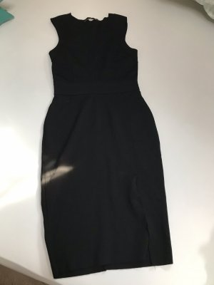 Zara Kleid in schwarz mit Schlitz