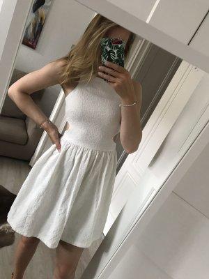 Zara Kleid in weiß mit CutOuts