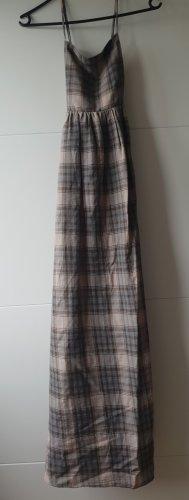 Zara Kleid Kariertes Kleid Maxikleid Midikleid