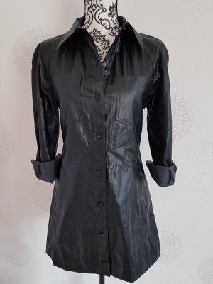 Zara Kleid Lederoptik Gr.S 36 schwarz Neu mit Etikett