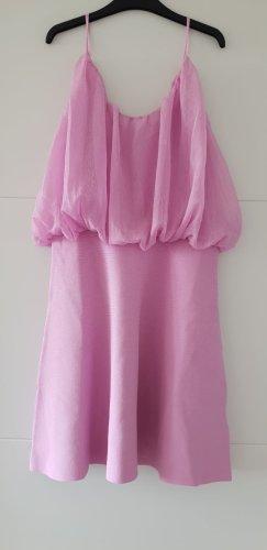Zara Kleid lilac lila mini Minikleid Gr M