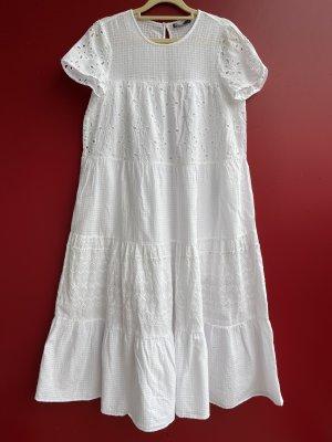 Zara Shortsleeve Dress white
