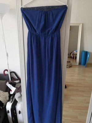 Trf by Zara Szyfonowa sukienka niebieski-ciemnoniebieski