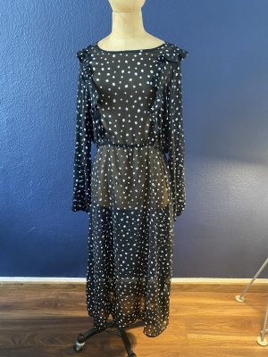 Zara Kleid Maxi Gr L mit Unterkleid top