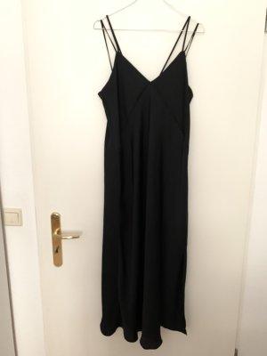 Zara Kleid Maxikleid Satinoptik Abendkleid