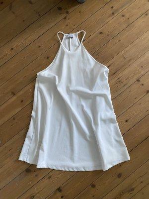 Zara Kleid Mini Boho Ausgestellt Ibiza Sommer Basic Top