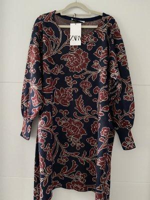 Zara Kleid Mini mit Gürtel Minikleid, Grösse S