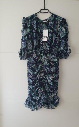 Zara Kleid Mini mit Volant