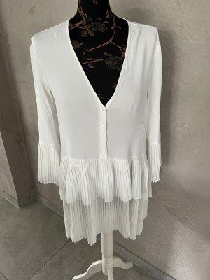 Zara Kleid Mini weiß