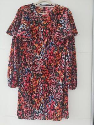Zara Kleid Minikleid mit Blumenprint