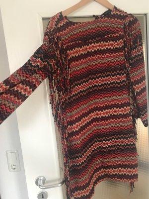 ZARA Kleid mit Franzen Größe S