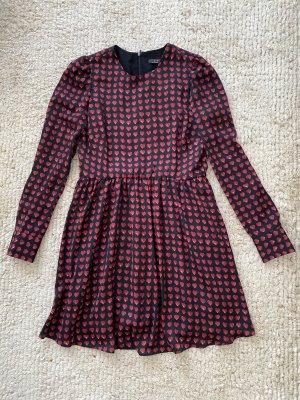 Zara Kleid mit Herzdruck