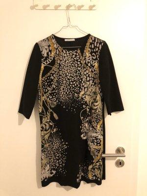 Zara Kleid mit Kettenmuster & 3/4 arm