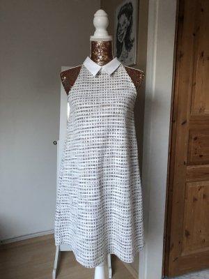 Zara Kleid mit Kragen Damen Gr. M