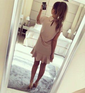 zara Kleid mit Kragen Gr L