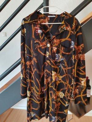 ZARA Kleid mit Pferdeprint Gr. S