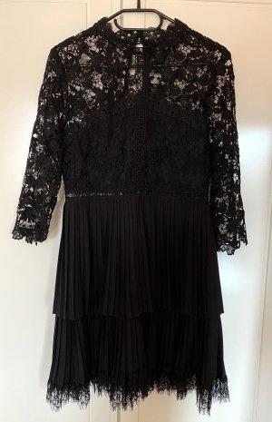Zara Kleid mit Plissee und Spitze
