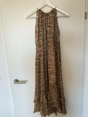 Zara Kleid mit Schlangenmuster