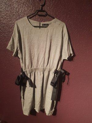 Zara Kleid mit seitlichen Schleifen L