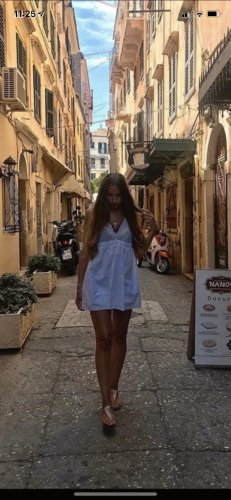 Zara Kleid mit Spitze vorn