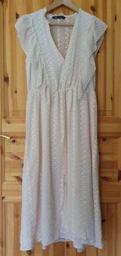 Zara Kleid mit Stickerei