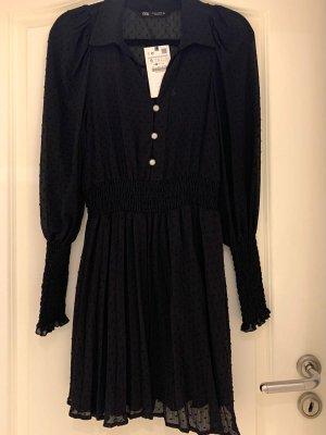 Zara Longsleeve Dress black-dark grey