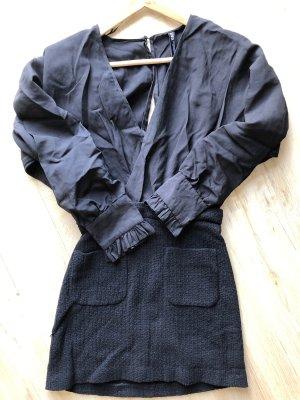 ZARA Kleid mit Strukturstoff Größe 32