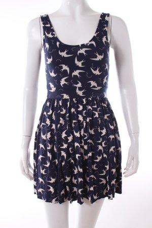 Zara Kleid mit Vogelprint