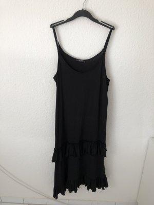 Zara Flounce Dress black