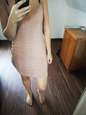 Zara Kleid neu in rosegold Gr 36/S