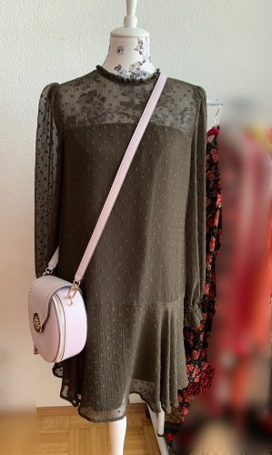 Zara Kleid Olive-Khaki