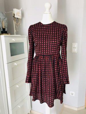 Zara Kleid Overall Herzchen XS