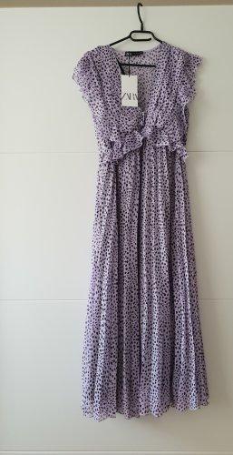 Zara Kleid plissiertes Midikleid, Grösse M, neu