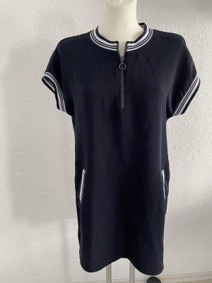 Zara Kleid s Blau weiß