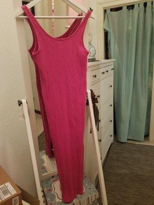 Zara Abito di maglia rosa-magenta