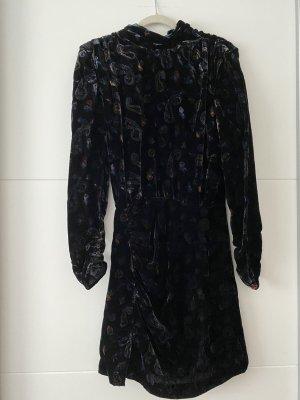 Zara Kleid Samtkleid