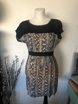 Zara Kleid Schlangenprint Minikleid