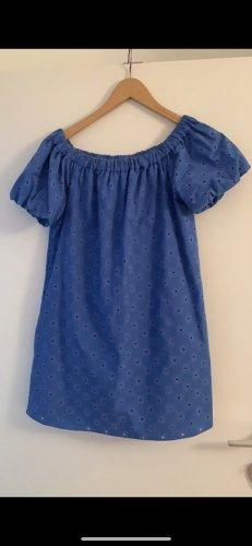 Zara Robe découpée bleuet