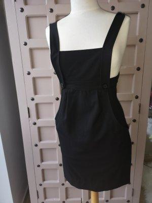 Zara Pinafore dress black