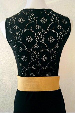 Zara Kleid schwarz mit Spitze Gr. S